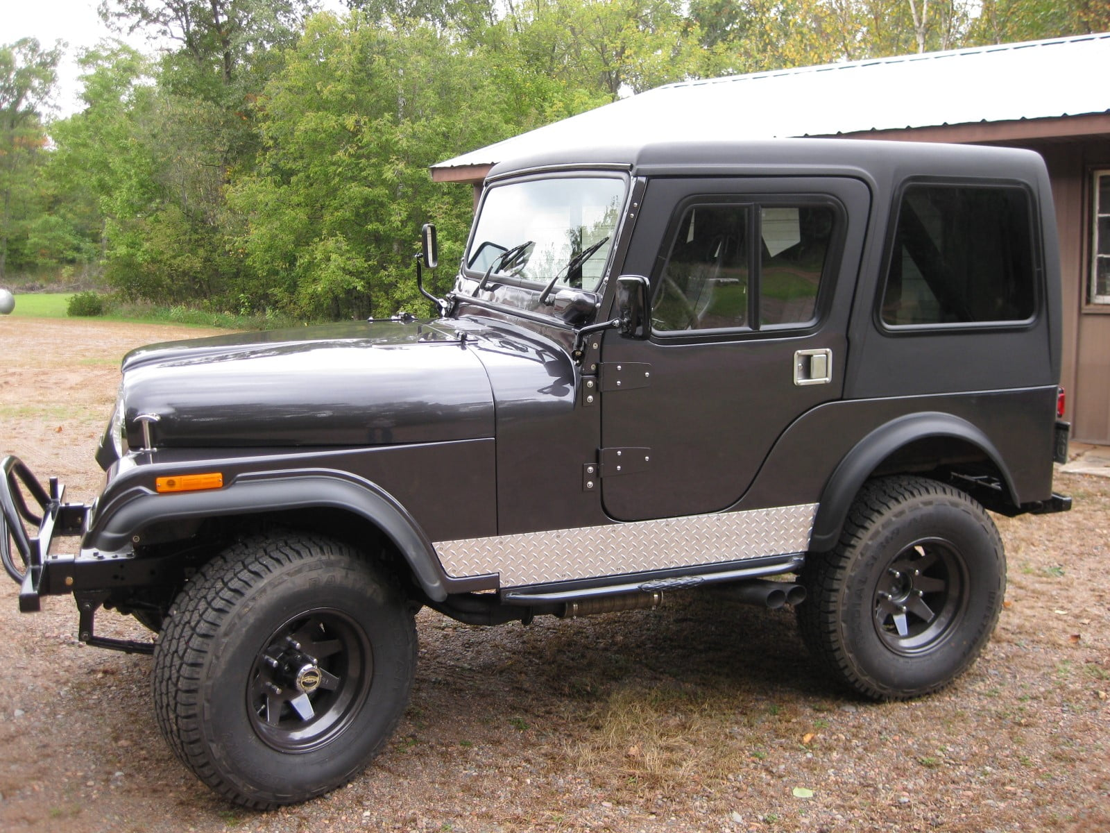 Rally Tops Quality Hardtop For Jeep Cj5 Early Intermediate