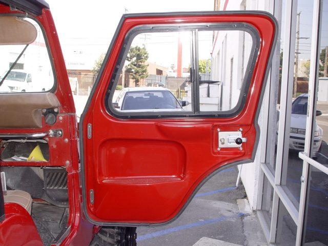 Fiberglass Full Door ... & Rally Tops Full Doors are Available for Convertible Jeep CJ5 Models pezcame.com