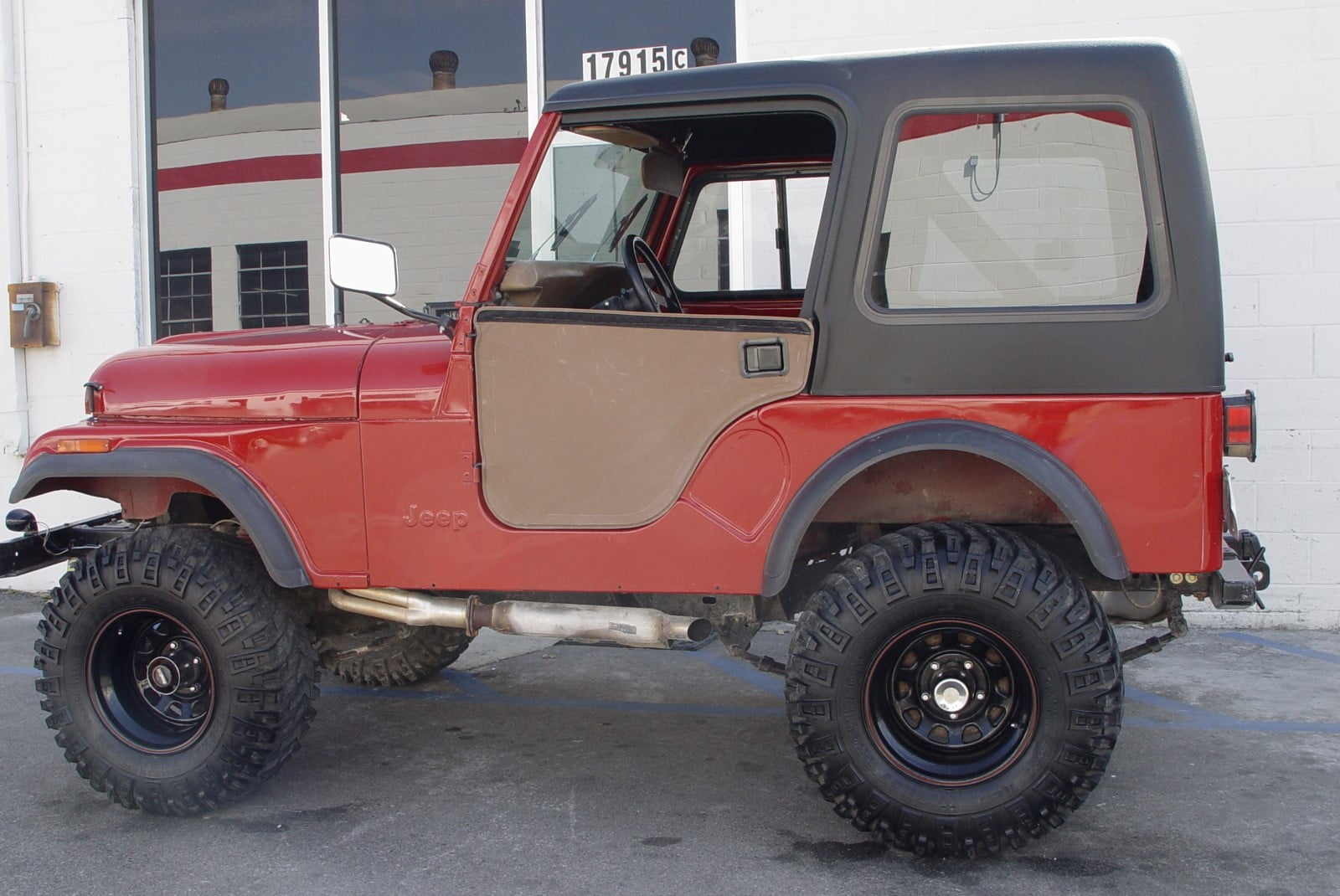 Category ... & Our CJ5 Jeep Story
