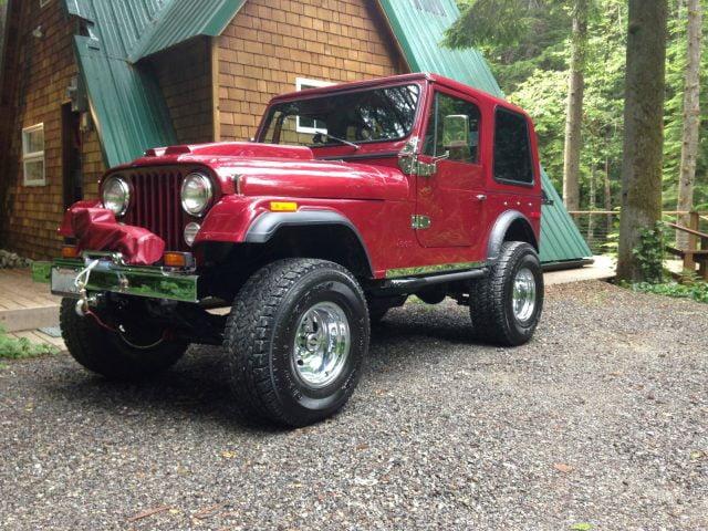 Rally Tops Quality Hardtop for Jeep CJ7 (1976-1986)