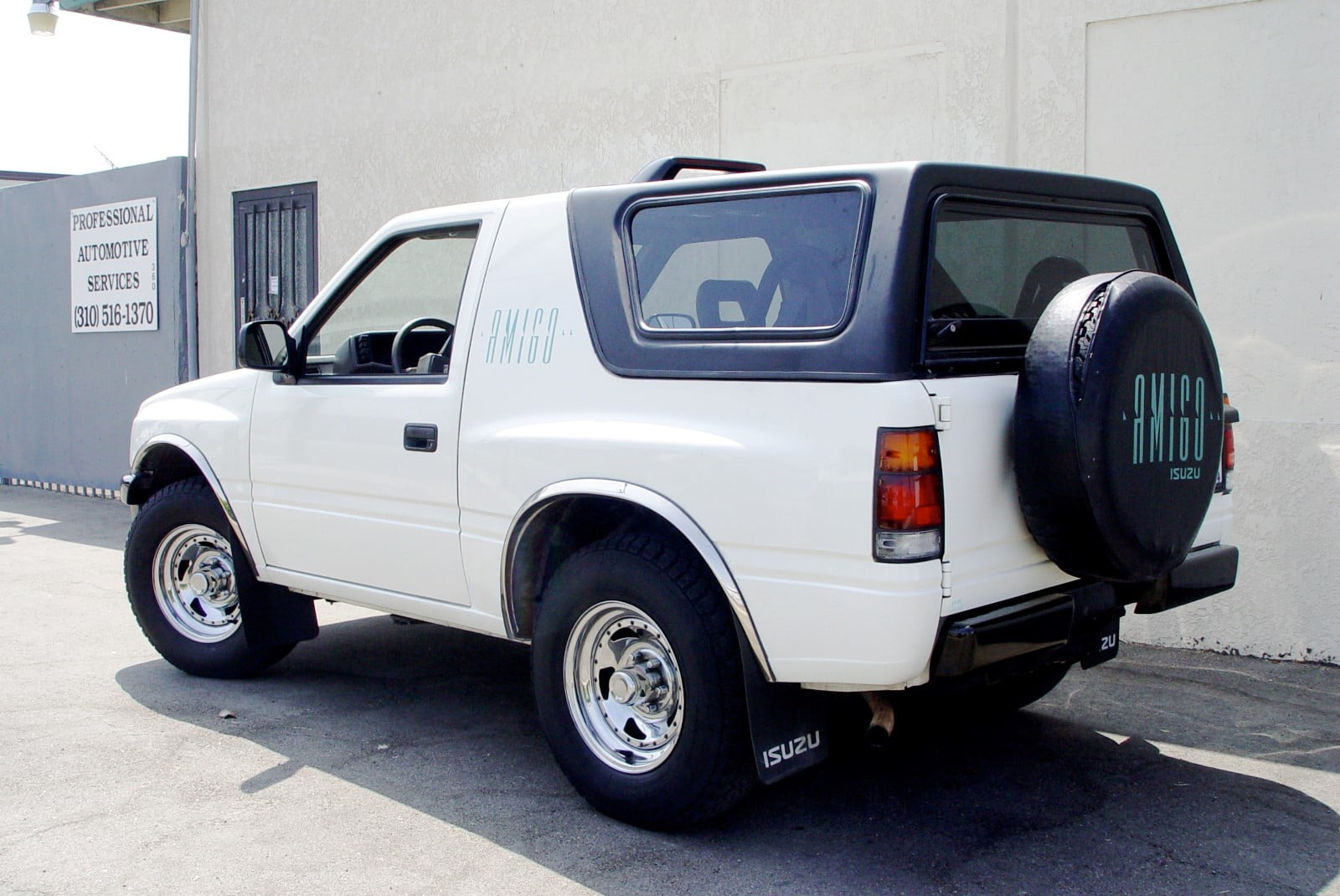 1998 Rav4 Custom >> Rally Tops Quality Hardtop for Isuzu Amigo & Rodeo Sport