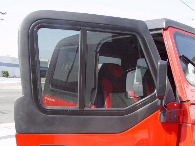 Upper Fiberglass Half-Door ... & Jeep Half Doors for All Hard or Soft Top Convertible Model Jeeps