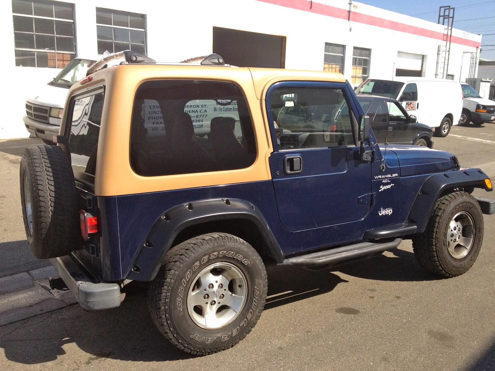 Rally Tops Quality Hardtop for Jeep Wrangler TJ (1997-2006)