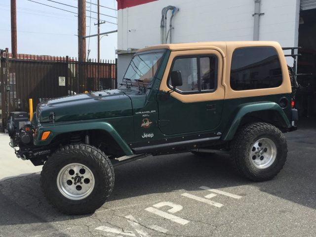 Jeep Wrangler Half Top >> Rally Tops Quality Hardtop for Jeep Wrangler TJ (1997-2006)