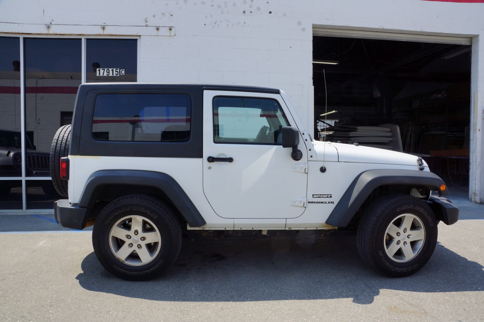 Rally Tops Quality Hardtop For Jeep Wrangler Jk 2 Door