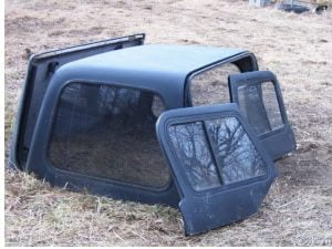 Truck Hardtop Replacement Parts Including Custom Paint