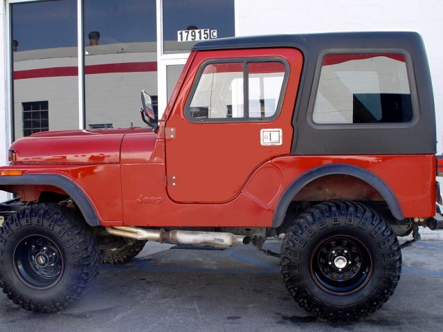 Rally Tops Full Doors Are Available For Convertible Jeep