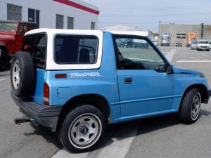 Geo Tracker Hardtops And Chevy Tracker Fiberglass Tops For