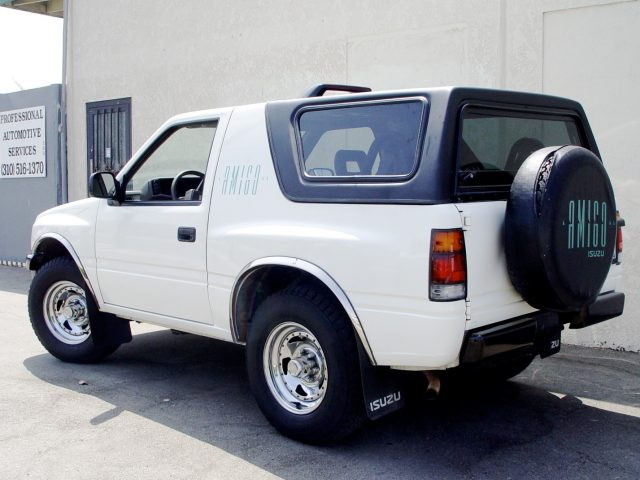 Rally Tops Quality Hardtop For Isuzu Amigo Amp Rodeo Sport