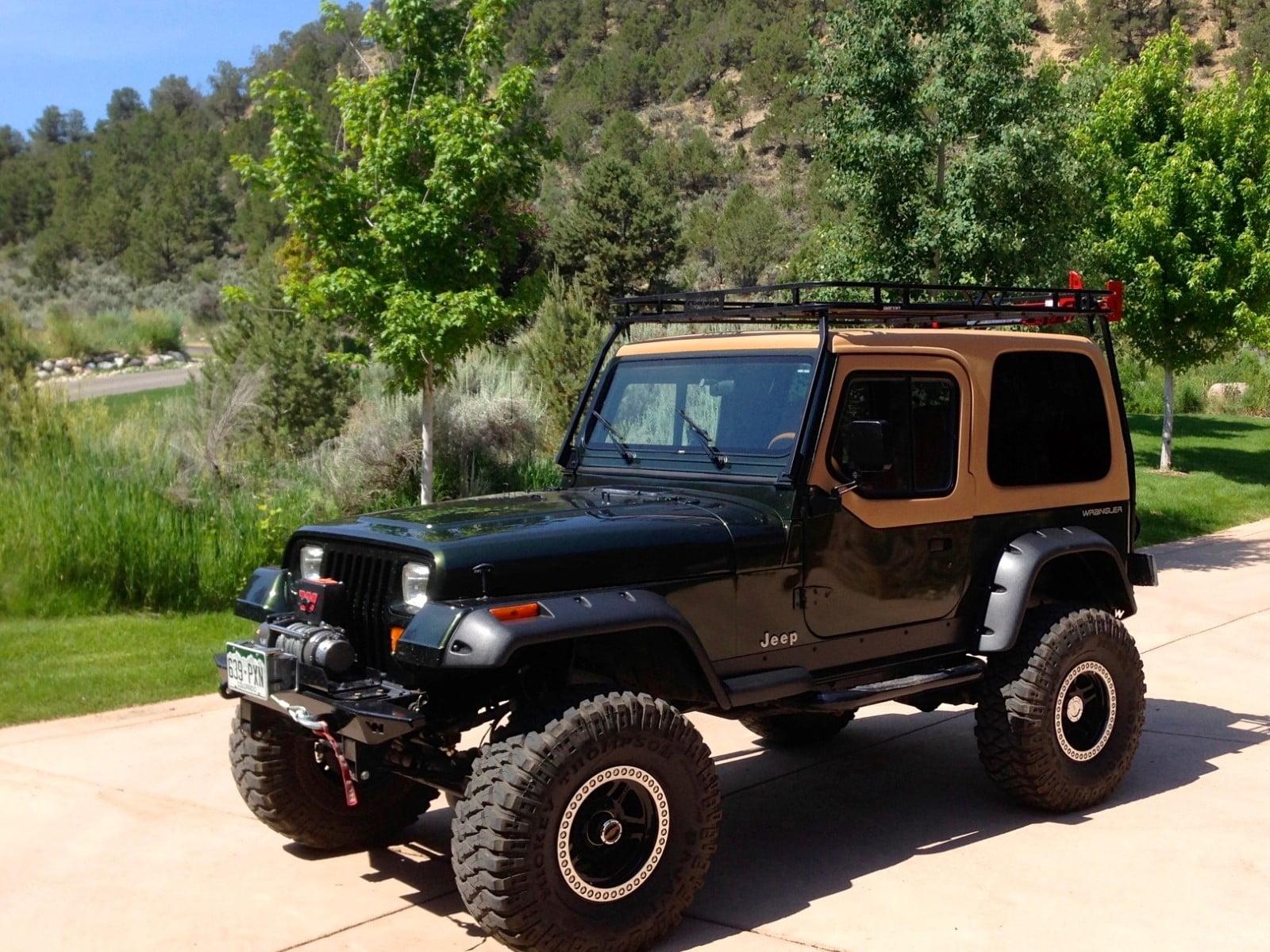 Rally Tops Quality Hardtop For Jeep Wrangler YJ (1986-1995