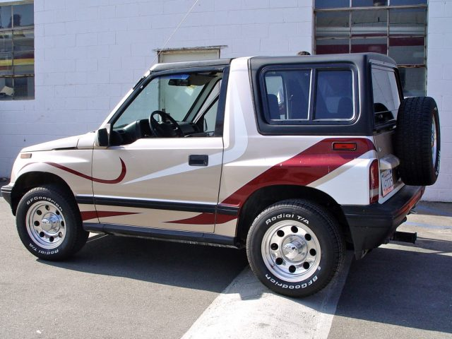 Jeep Soft Tops >> Rally Tops Quality Hardtop for Suzuki Sidekick (1989-1998)