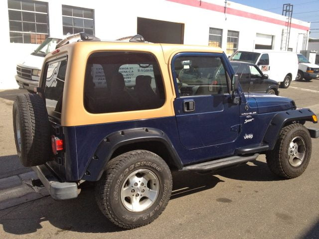 97 jeep wrangler hard top