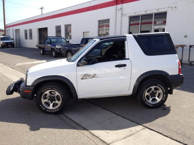 Rally Tops Quality Hardtop For Chevy Tracker 1999 2004