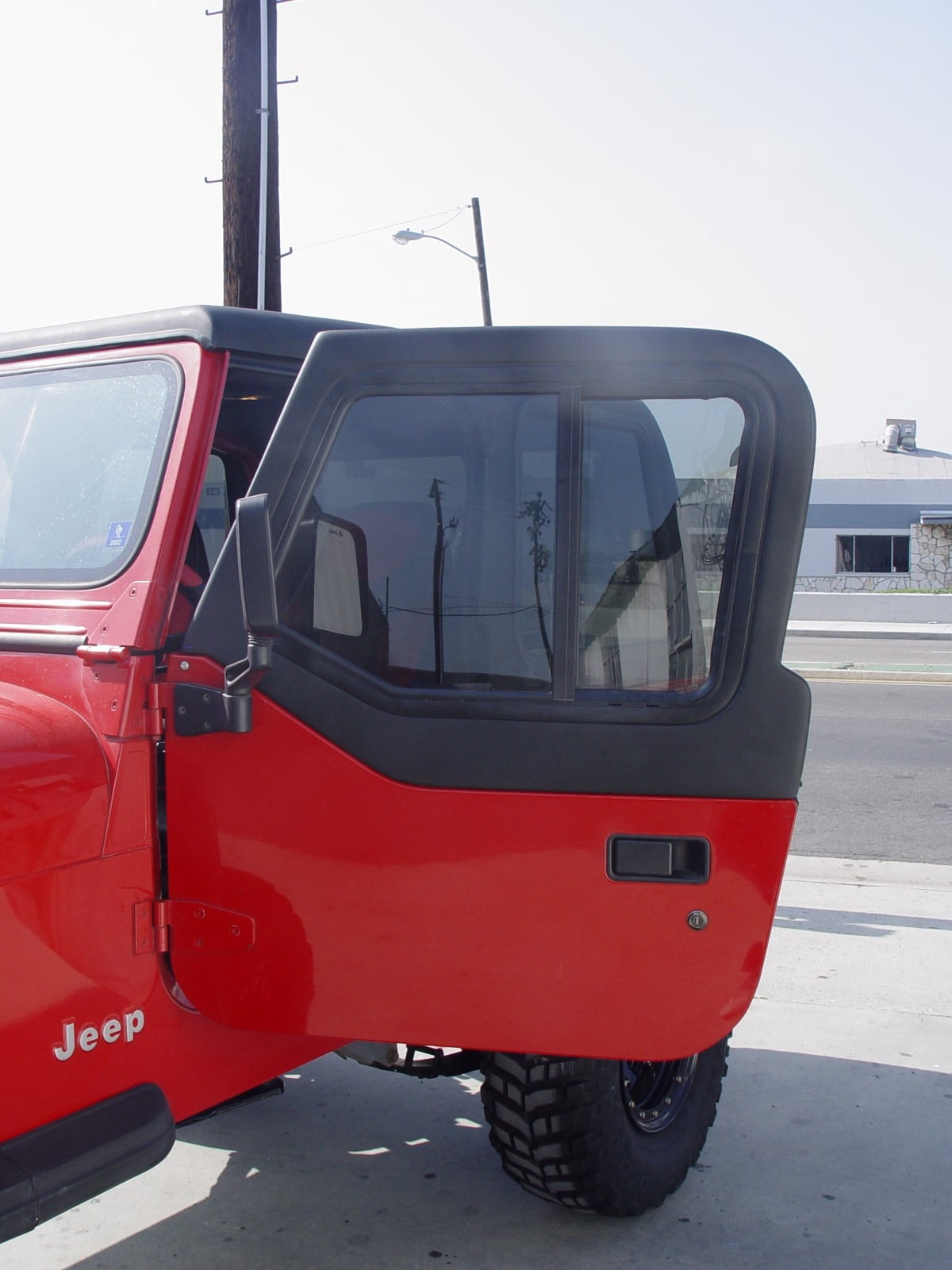 Jeep Half Doors For All Hard Or Soft Top Convertible Model