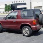 kia sportage rear view
