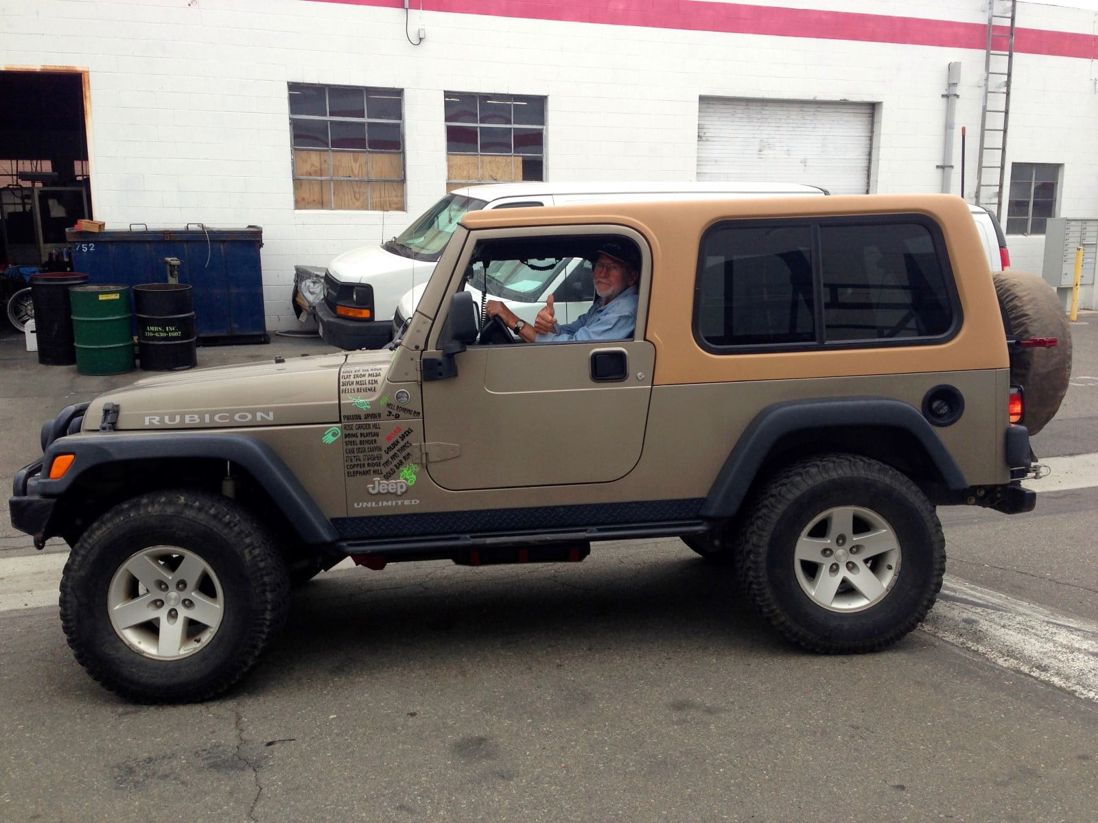 Rally Tops Quality Hardtop For Jeep Wrangler Unlimited Lj