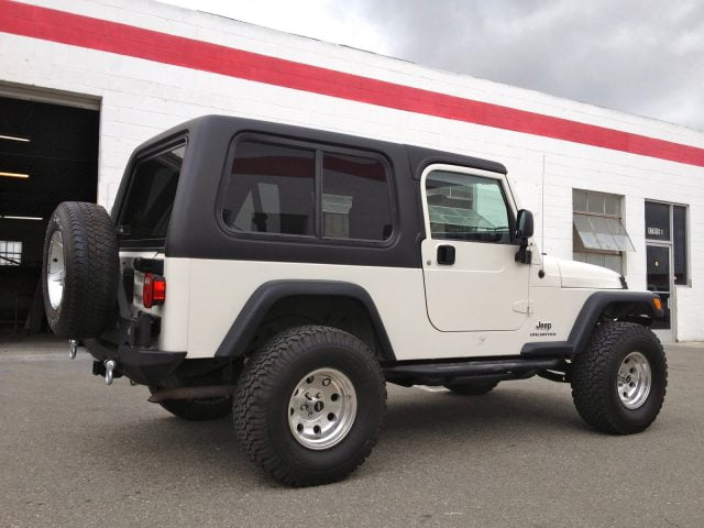 Jeep Wrangler Unlimited Lj Hardtop Years 2004 2006