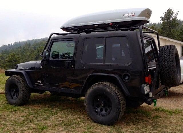 Jeep Wrangler Unlimited Lj Hardtop Years 2004