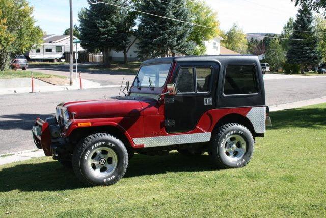 jeep cj5 hardtop 1980